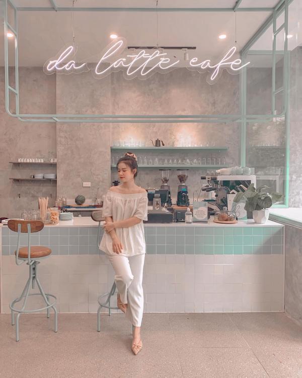 [Review Da Latte Cafe] - QUÁN CF SIÊU XANH- SIÊU XINH VINCOM BÀ TRIỆU 4
