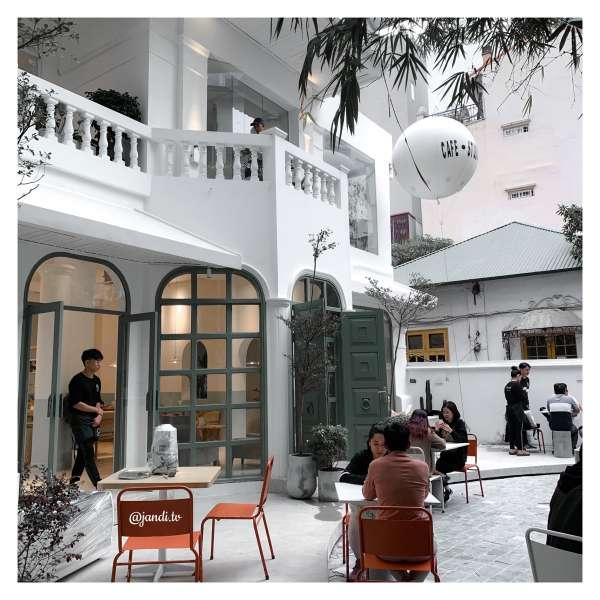 [Review] - Gather, 28A Hạ Hồi. Tổ hợp cafe - studio - spa 2