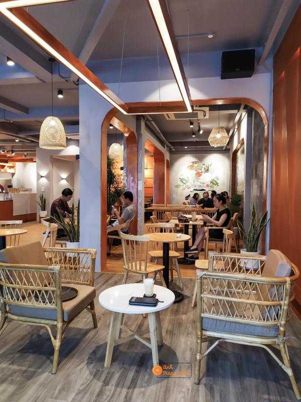 [Review] - HOUSE OF CHA COFFEE LINH ĐÀM, KHÔNG GIAN COWORKING SPACE 2