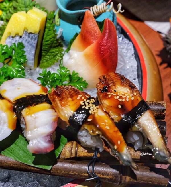 [Review] - Hadu Sushi - 276 Xã Đàn, Thử món MAI CUA NƯỚNG PHÔ MAI 2