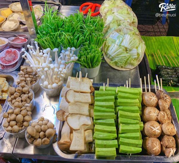 [Review] - LẨU VỈA HÈ, XIÊN NƯỚNG, Ngã 3 Nguyễn Kiệm 5