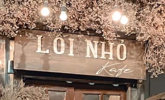 [Review] - Lối Nhỏ Kafe, Cafe đẹp ở Giảng Võ 8