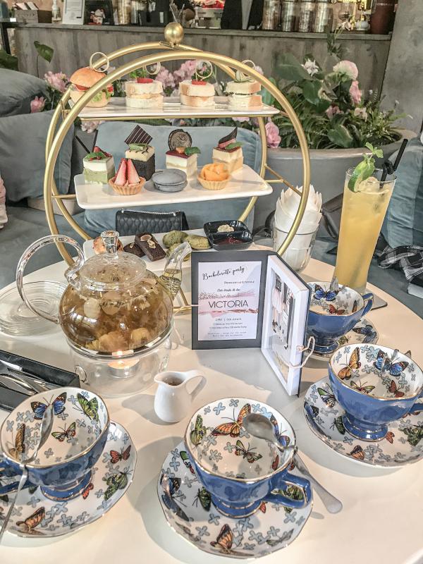 [Review] - La Fleur Tea and Dessert Cafe, 22B Hai Bà Trưng 10