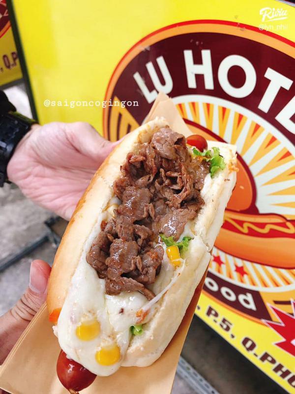 [Review] - Lu Hotdog - Hotdog & Hamburger,24 Thích Quảng Đức, Quận Phú Nhuận, HCm 6