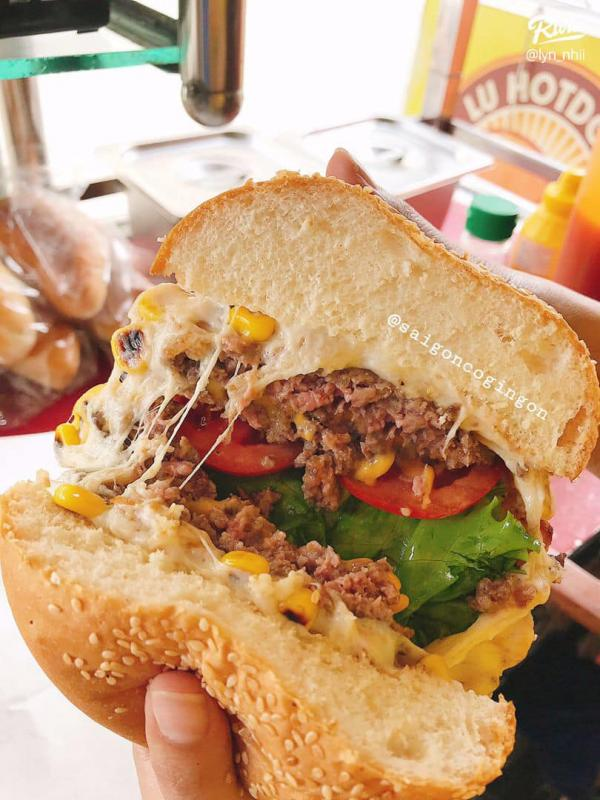 [Review] - Lu Hotdog - Hotdog & Hamburger,24 Thích Quảng Đức, Quận Phú Nhuận, HCm 8
