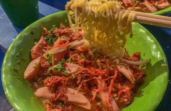 [Review] - Mì trộn , Cổng trường Chu Văn An, cấp 2 60