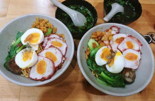 [Review] - Mì Trộn Xá Xíu Trứng Muối, Phường Sơn Kỳ, Quận Tân Phú 1