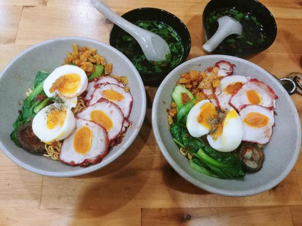 [Review] - Mì Trộn Xá Xíu Trứng Muối, Phường Sơn Kỳ, Quận Tân Phú 3