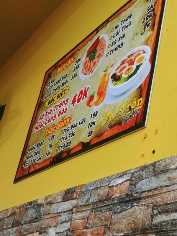 [Review] - Mì Trộn Xá Xíu Trứng Muối, Phường Sơn Kỳ, Quận Tân Phú 5