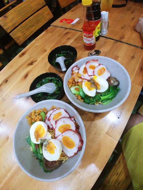 [Review] - Mì Trộn Xá Xíu Trứng Muối, Phường Sơn Kỳ, Quận Tân Phú 2