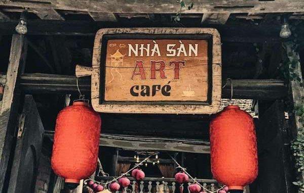 [Review] - Nhà Sàn Art cafe,Ngõ 6-Vĩnh Phúc- Hoàng Hoa Thám, HN 28