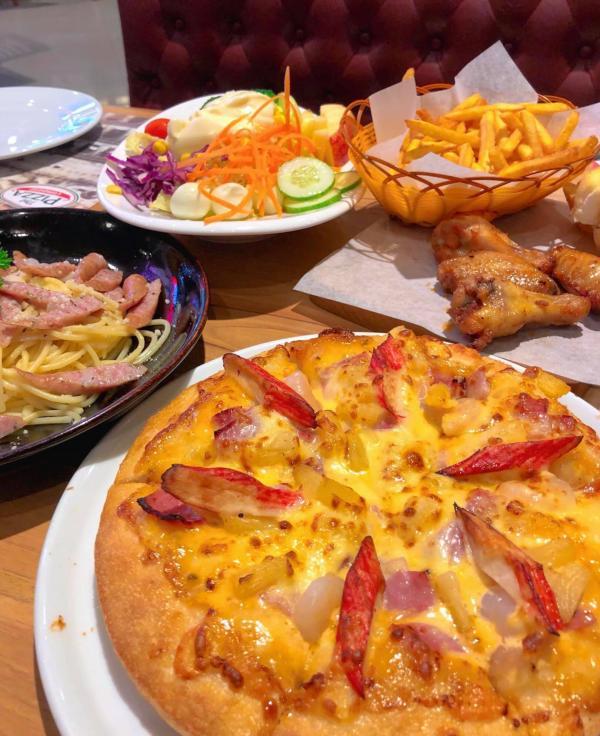 [Review] - Pizza Company - Aeonmall Long Biên 27 Cổ Linh 3