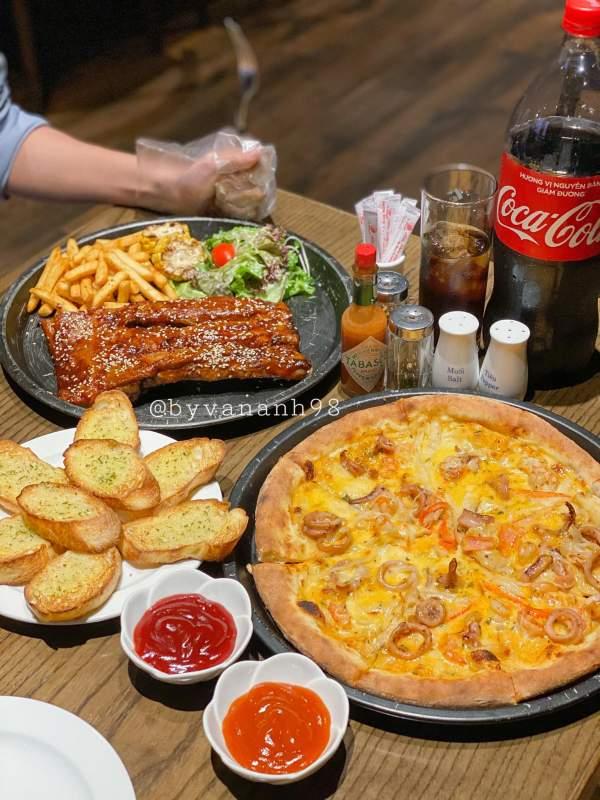 [Review] - QUÁN PIZZA TƯƠI NƯỚNG LÒ KIỂU MỸ, Full House Pizza - 6 Đào Duy Từ 6