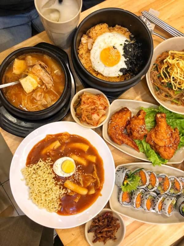 [Review] - Quán ăn đồ Hàn - Hansarang - Số 464 Bạch Mai 5