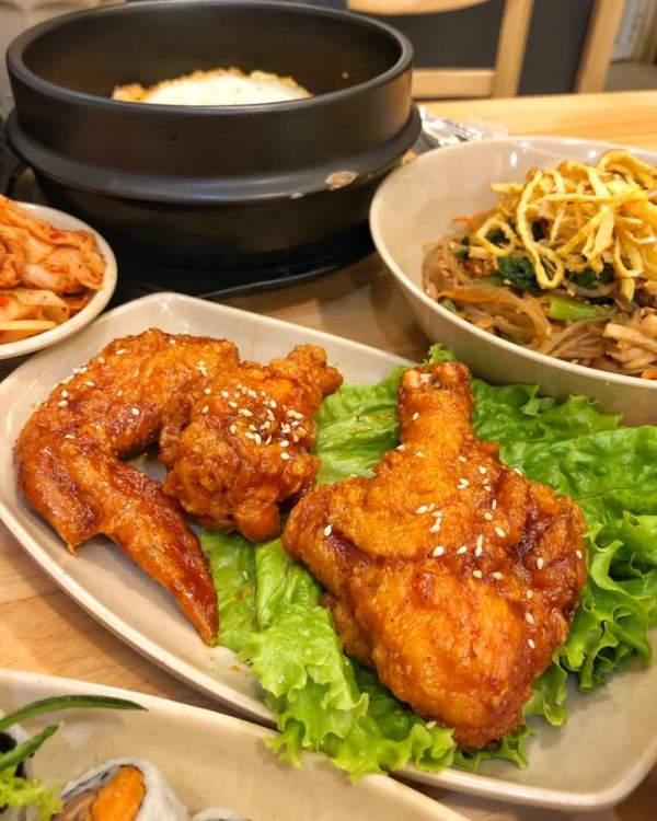 [Review] - Quán ăn đồ Hàn - Hansarang - Số 464 Bạch Mai 4