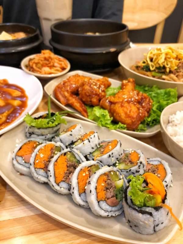 [Review] - Quán ăn đồ Hàn - Hansarang - Số 464 Bạch Mai 3