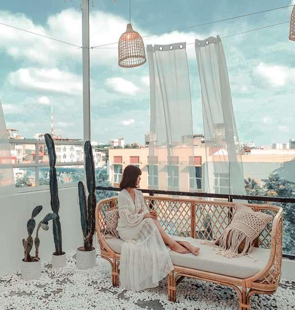 [Review] - Quán Cafe sân thượng siêu xinh, chụp hình sống ảo 2