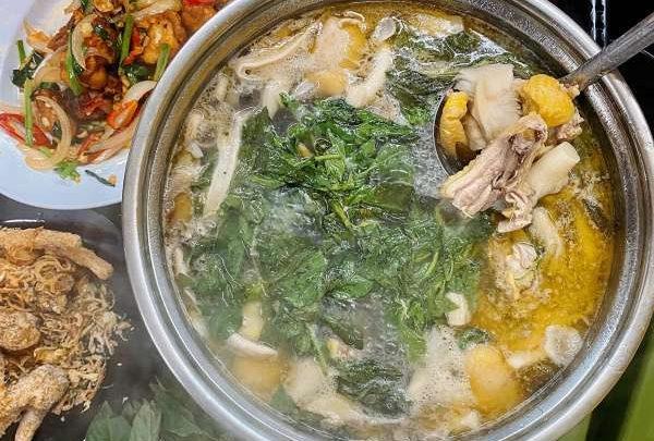 [Review] - Quán LẨU GÀ LÁ É - 55 ngõ Nguyễn Hữu Huân 55