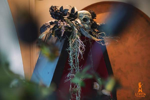 [Review] - Quán cafe decor Halloween,36 Hào Nam 2