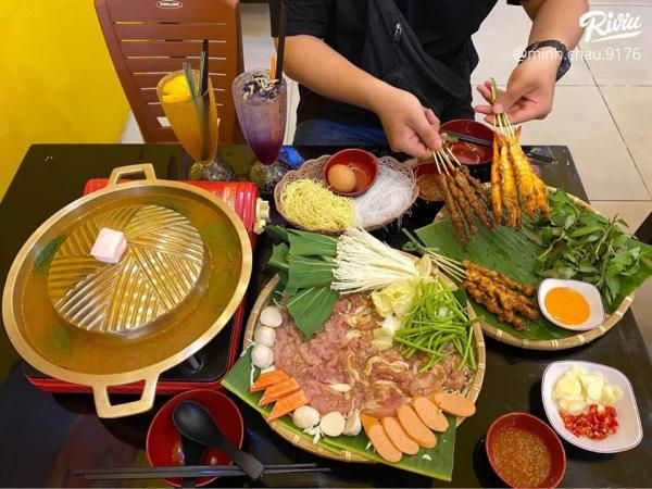 [Review] - Somchai Mookata, Vừa Nướng Thịt Vừa Nhúng Lẩu chỉ 89k 5