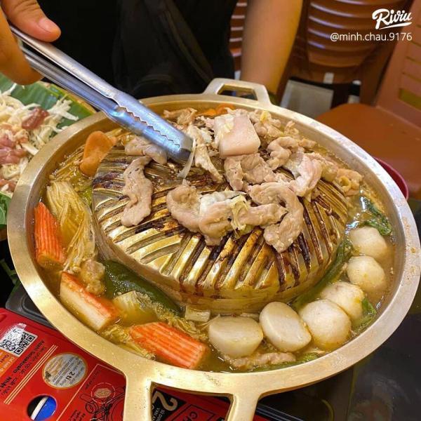 [Review] - Somchai Mookata, Vừa Nướng Thịt Vừa Nhúng Lẩu chỉ 89k 2
