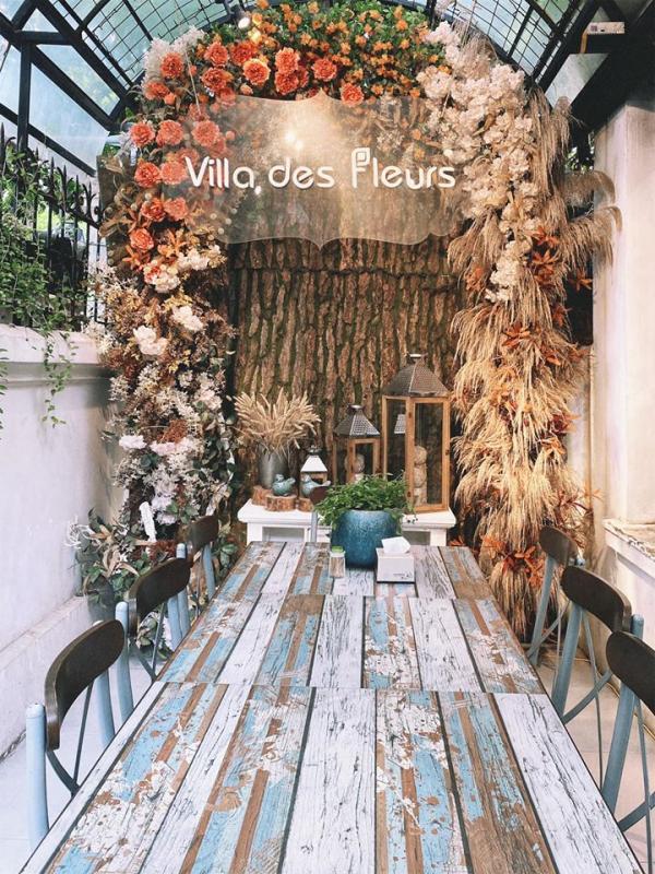 [Review] - VILLA DES FLEURS - Nàng thơ của mùa thu Hà Nội 4