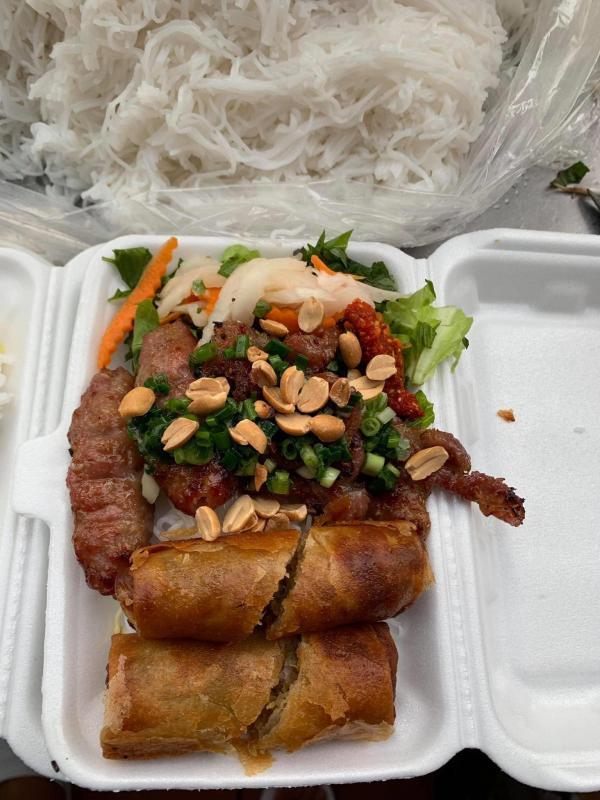 [Review] - Xe Bún Thịt Nướng Heo Bay, 58B đường số 10, P.Tân Quy, Q.7 2