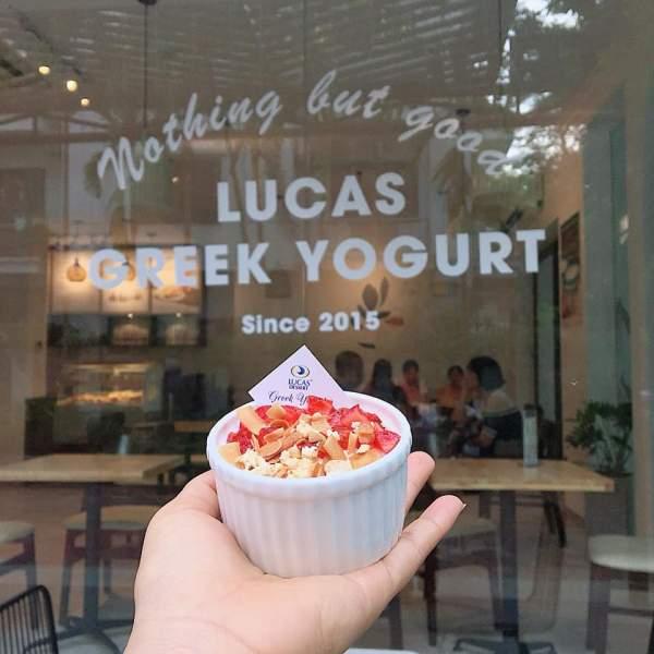 [Review] - Sữa chua Hy Lạp Lucas cafe, biệt thự 17 lô 14B Nam Trung Yên 2