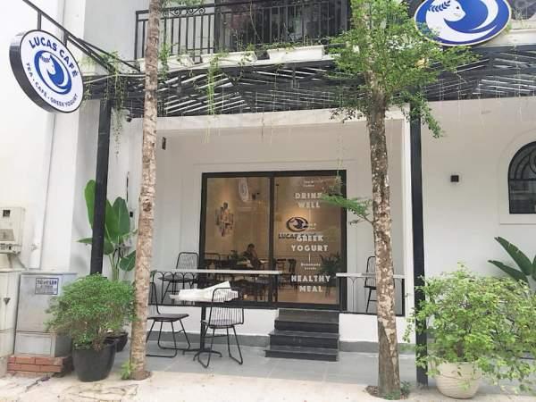 [Review] - Sữa chua Hy Lạp Lucas cafe, biệt thự 17 lô 14B Nam Trung Yên 3