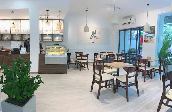 [Review] - Sữa chua Hy Lạp Lucas cafe, biệt thự 17 lô 14B Nam Trung Yên 4