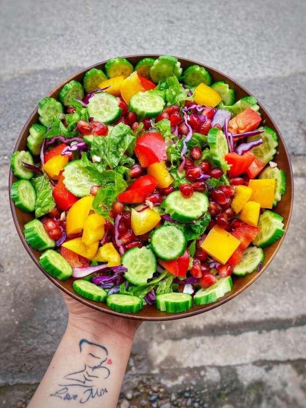 Tổng hợp 11 công thức Cách làm món Salat ngon xịn mịn, Salat đẹp da 2