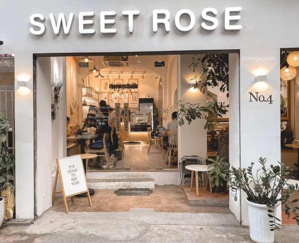 [Review] - Quán Cafe Triều Khúc, Thanh Xuân, HN, SWEET ROSE Coffee 4
