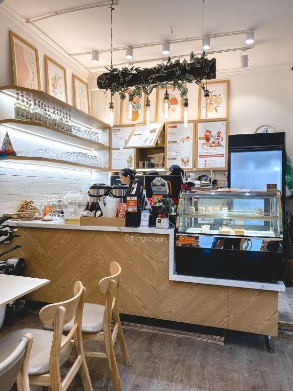 [Review] - Quán Cafe Triều Khúc, Thanh Xuân, HN, SWEET ROSE Coffee 2