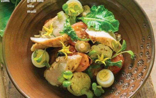 Công thức Salad gà & rau củ nướng - Cách làm Salad chuẩn ngon 61