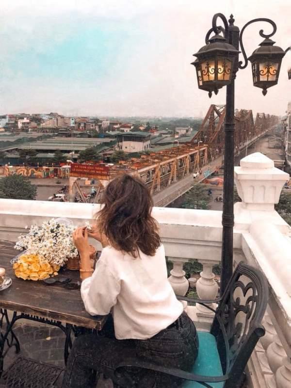 [Review] - Serein Cafe & Lounge - Café, View Cầu Long Biên cực đẹp 3