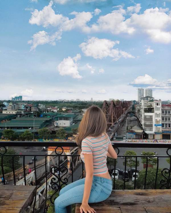 [Review] - Serein Cafe & Lounge - Café, View Cầu Long Biên cực đẹp 6