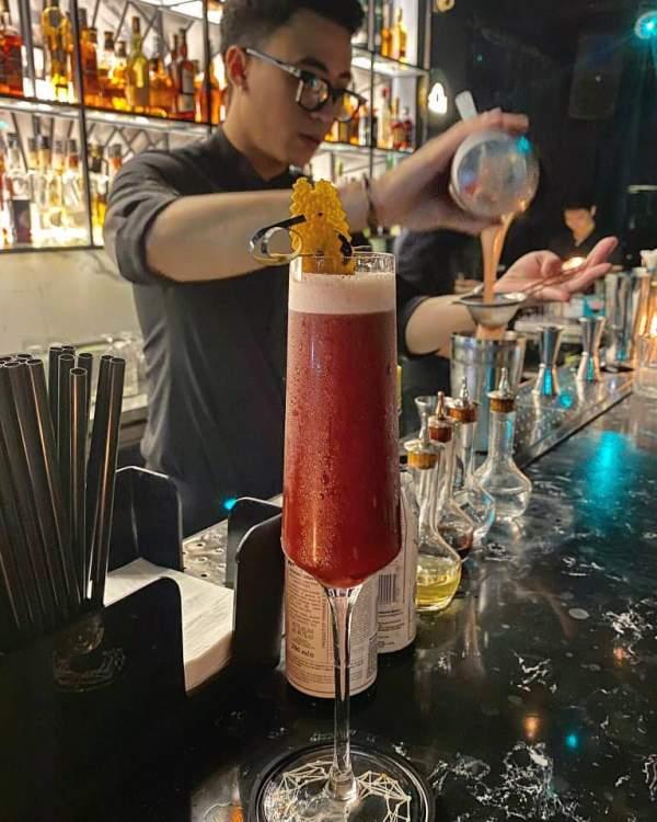 [Review] - Quán Cocktail - Bar cực chất nhiều giai đẹp - Stella Mixology 4