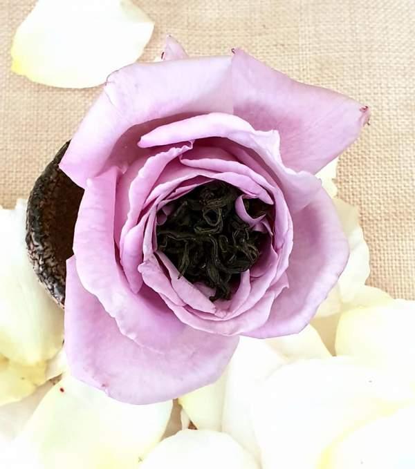 Tự ướp trà với hoa hồng vườn nhà 2