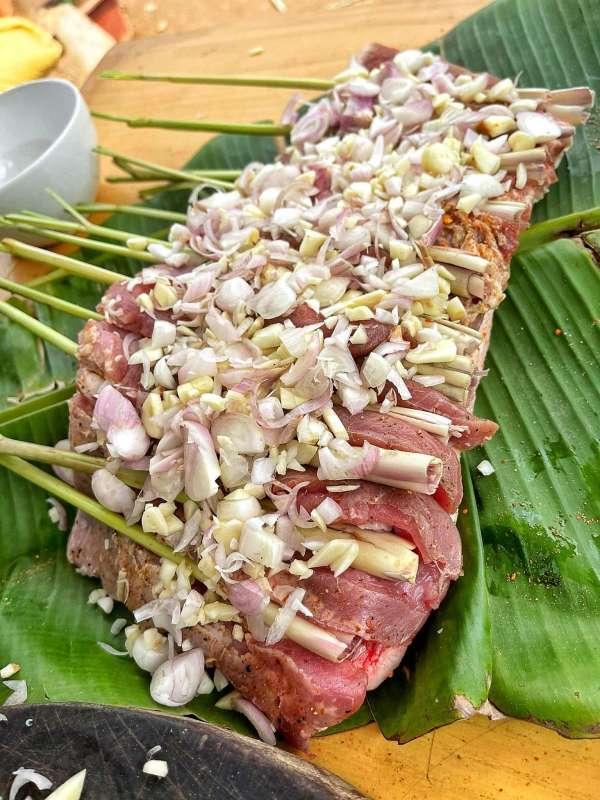Thịt Lợn Cuộn Quay Ngũ Vị - Nướng 1 cây Ba chỉ ngon cực đã 9