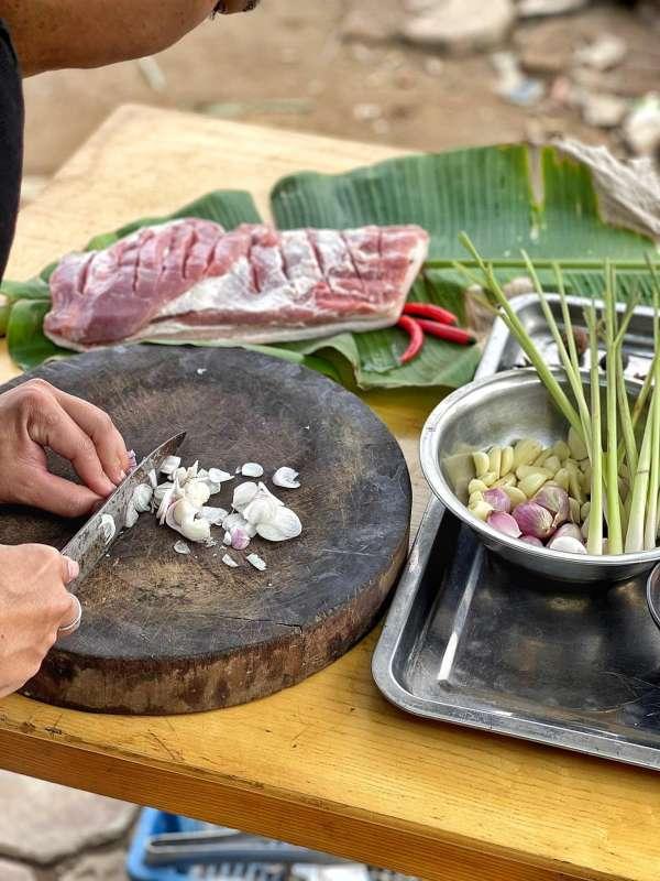 Thịt Lợn Cuộn Quay Ngũ Vị - Nướng 1 cây Ba chỉ ngon cực đã 5