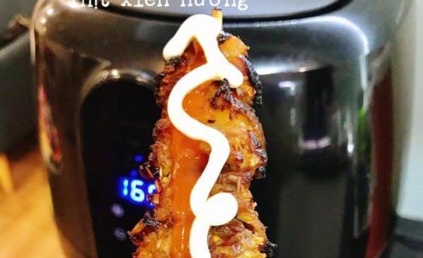 Cách làm Thịt xiên nướng chuẩn vị với Nồi chiên không dầu 68