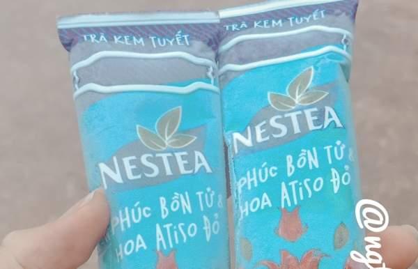 [Review Kem Ngon] - Trà kem tuyết của Nestea 60