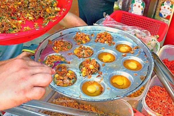 [Review] - Trứng cút nướng thập cẩm + ngô xào tép sate tại Hồ Tây 1