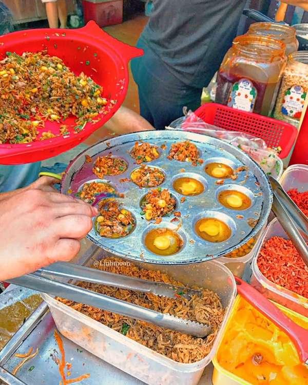 [Review] - Trứng cút nướng thập cẩm + ngô xào tép sate tại Hồ Tây 2