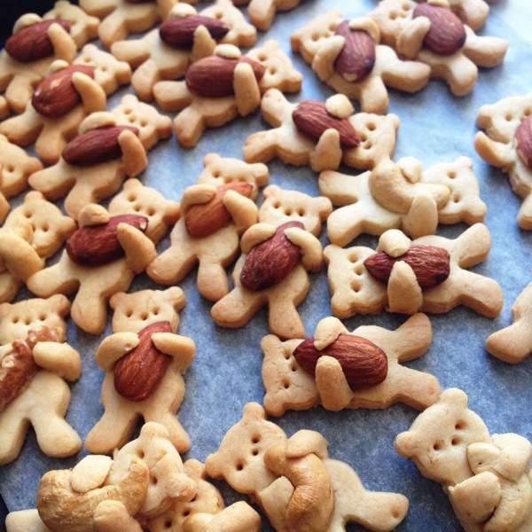 [Công Thức] Cách làm bánh Cookies hình thú ôm hạt 2