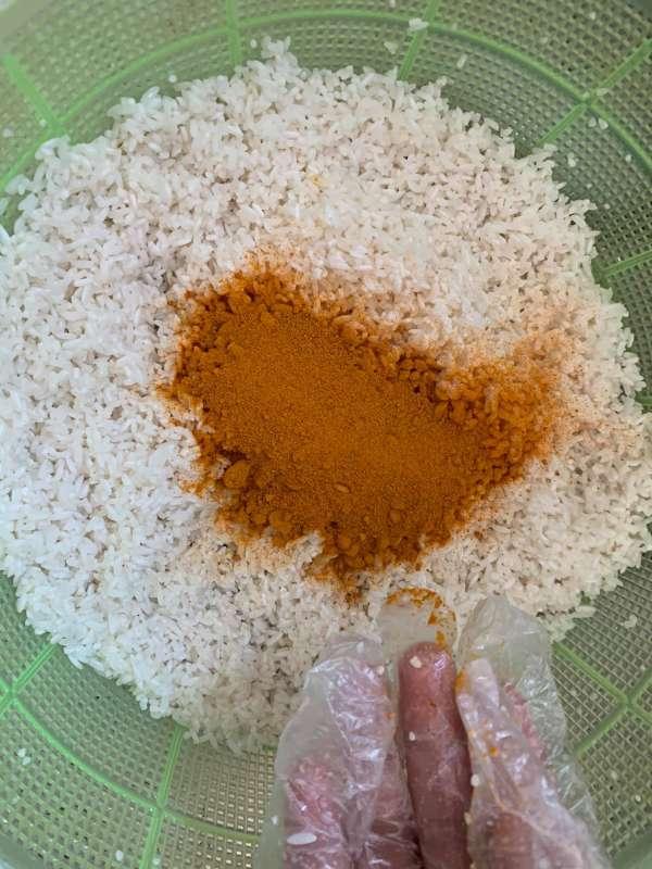 Cách làm Bánh Nghệ, món ngon đặc trưng Thái Bình 12