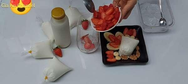 Cách làm Sữa Chua đóng túi cực ngon 13