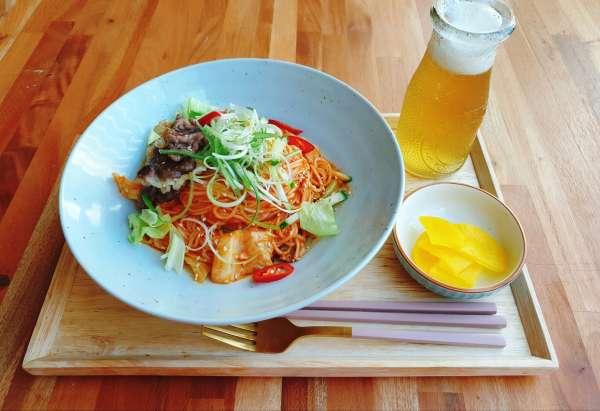 Cách nấu món mỳ trộn cay của Hàn 25