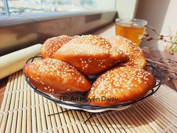 Cách làm Bánh Tiêu VỎ GIÒN, PHỒNG CĂNG , RỖNG RUỘT 3