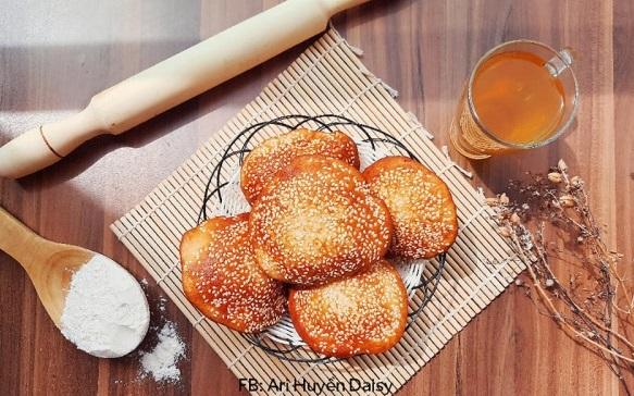 Cách làm Bánh Tiêu VỎ GIÒN, PHỒNG CĂNG , RỖNG RUỘT 2